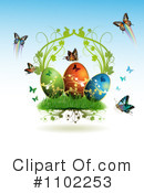 Royalty-Free (RF) Easter Clipart Illustration #1102253