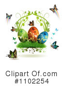 Royalty-Free (RF) Easter Clipart Illustration #1102254