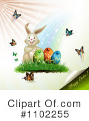 Royalty-Free (RF) Easter Clipart Illustration #1102255
