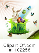 Royalty-Free (RF) Easter Clipart Illustration #1102256