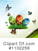 Royalty-Free (RF) Easter Clipart Illustration #1102258