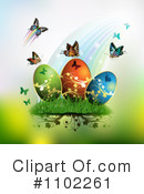 Royalty-Free (RF) Easter Clipart Illustration #1102261