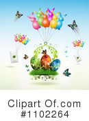 Royalty-Free (RF) Easter Clipart Illustration #1102264