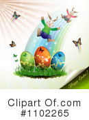 Royalty-Free (RF) Easter Clipart Illustration #1102265