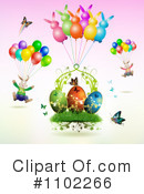 Royalty-Free (RF) Easter Clipart Illustration #1102266