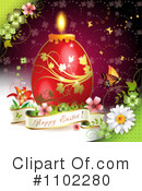 Royalty-Free (RF) Easter Clipart Illustration #1102280