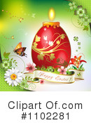 Royalty-Free (RF) Easter Clipart Illustration #1102281