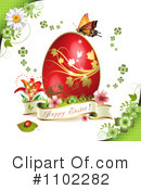 Royalty-Free (RF) Easter Clipart Illustration #1102282