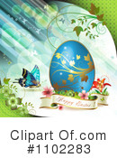 Royalty-Free (RF) Easter Clipart Illustration #1102283