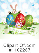 Royalty-Free (RF) Easter Clipart Illustration #1102287
