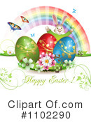 Royalty-Free (RF) Easter Clipart Illustration #1102290