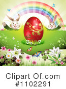 Royalty-Free (RF) Easter Clipart Illustration #1102291
