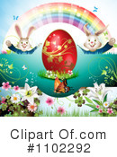 Royalty-Free (RF) Easter Clipart Illustration #1102292