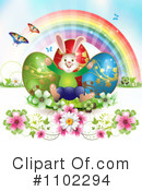 Royalty-Free (RF) Easter Clipart Illustration #1102294
