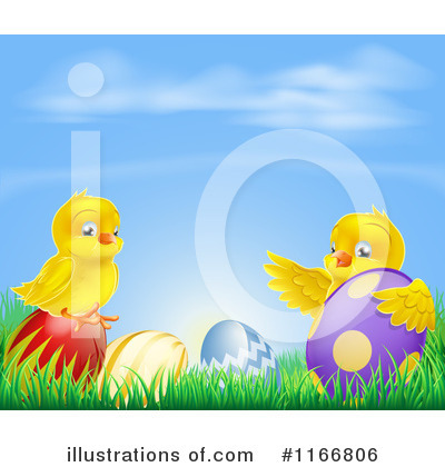 Chick Clipart #1166806 by AtStockIllustration