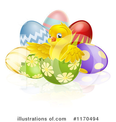 Chick Clipart #1170494 by AtStockIllustration