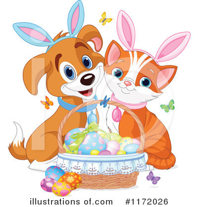 Dog And Cat Clipart #1172026 by Pushkin