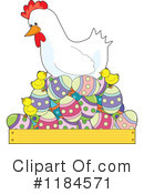 Royalty-Free (RF) Easter Clipart Illustration #1184571