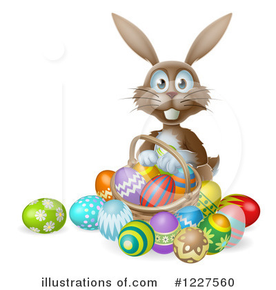 Easter Egg Clipart #1227560 by AtStockIllustration