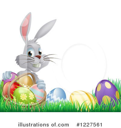 Easter Egg Clipart #1227561 by AtStockIllustration