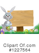 Royalty-Free (RF) Easter Clipart Illustration #1227564
