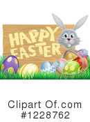 Royalty-Free (RF) Easter Clipart Illustration #1228762