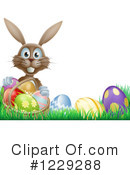 Royalty-Free (RF) Easter Clipart Illustration #1229288