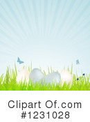 Royalty-Free (RF) Easter Clipart Illustration #1231028