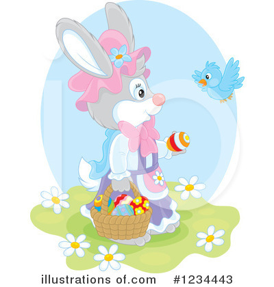 Rabbit Clipart #1234443 by Alex Bannykh