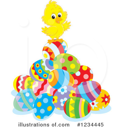Royalty-Free (RF) Easter Clipart Illustration by Alex Bannykh - Stock Sample #1234445