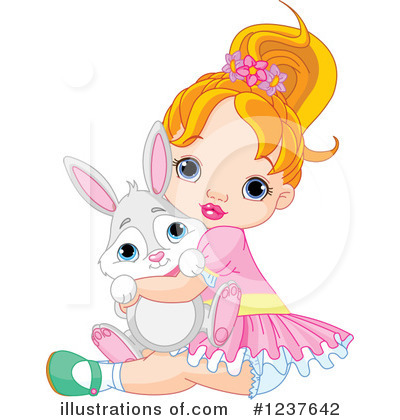Rabbit Clipart #1237642 by Pushkin