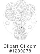 Royalty-Free (RF) Easter Clipart Illustration #1239278