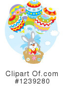 Royalty-Free (RF) Easter Clipart Illustration #1239280
