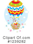 Royalty-Free (RF) Easter Clipart Illustration #1239282