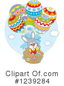 Royalty-Free (RF) Easter Clipart Illustration #1239284