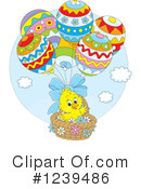 Royalty-Free (RF) Easter Clipart Illustration #1239486