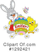Royalty-Free (RF) Easter Clipart Illustration #1292421