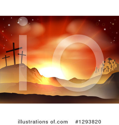 Sunrise Clipart #1293820 by AtStockIllustration