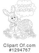 Easter Clipart #1294767 by Alex Bannykh