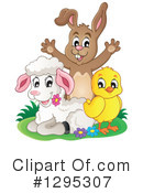 Royalty-Free (RF) Easter Clipart Illustration #1295307