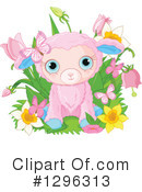 Royalty-Free (RF) Easter Clipart Illustration #1296313
