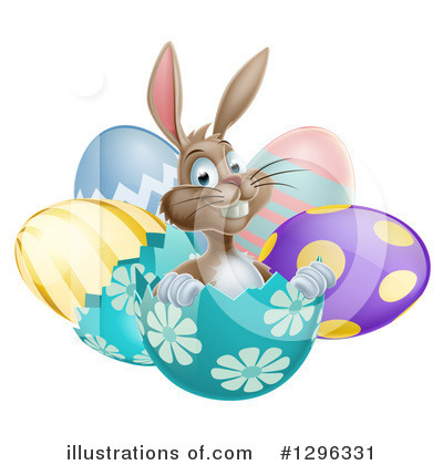 Easter Egg Clipart #1296331 by AtStockIllustration