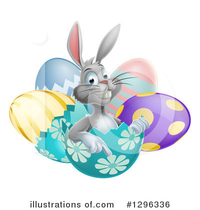 Easter Egg Clipart #1296336 by AtStockIllustration