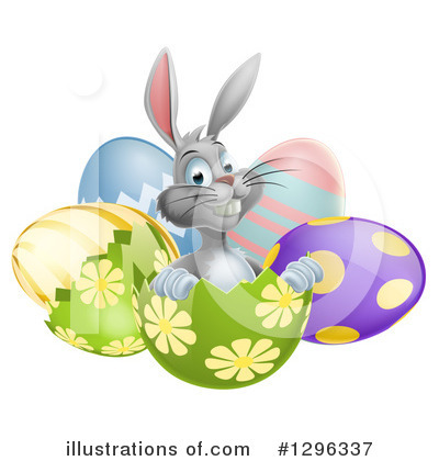 Easter Egg Clipart #1296337 by AtStockIllustration