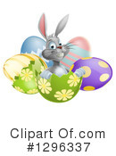 Royalty-Free (RF) Easter Clipart Illustration #1296337