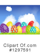 Royalty-Free (RF) Easter Clipart Illustration #1297591