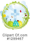 Royalty-Free (RF) Easter Clipart Illustration #1299467