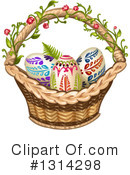 Royalty-Free (RF) Easter Clipart Illustration #1314298