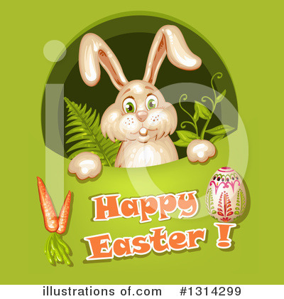 Royalty-Free (RF) Easter Clipart Illustration by merlinul - Stock Sample #1314299