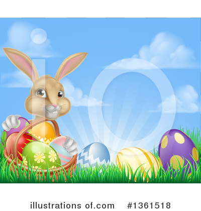Easter Egg Clipart #1361518 by AtStockIllustration